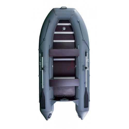 Лодка ПВХ 3х м., 300х135, г/п 350кг, баллон 390мм, до 8л.с., б/пола RiverBoat RB 300 Лайт