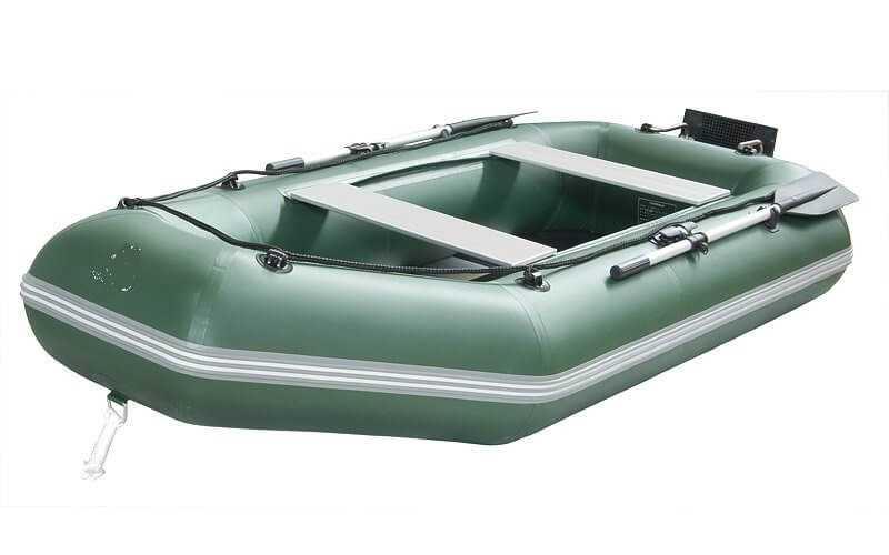 Лодка ПВХ 2х м., 260х140, г/п 200кг, баллон 360мм, Roger Standart 2600