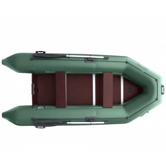 Лодка ПВХ 3х м., 310х140, г/п 220кг, баллон 390мм, до 6л.с., пол доски Шторм 310
