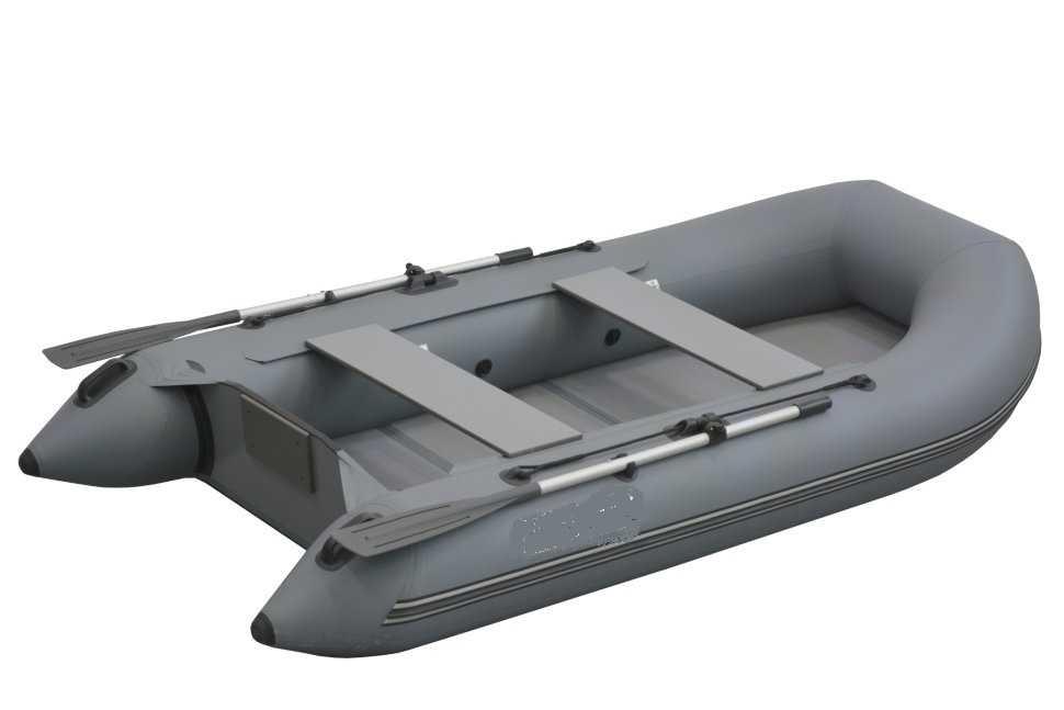 Лодка ПВХ 4х м., 350х158, г/п 500кг, баллон 440мм, до 10л.с., тв.пол