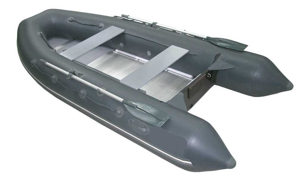 Лодка ПВХ 5ти м., 360х172, г/п 610кг, баллон 470мм, до 25л.с., тв.пол Мнев и К 360 (Копировать)