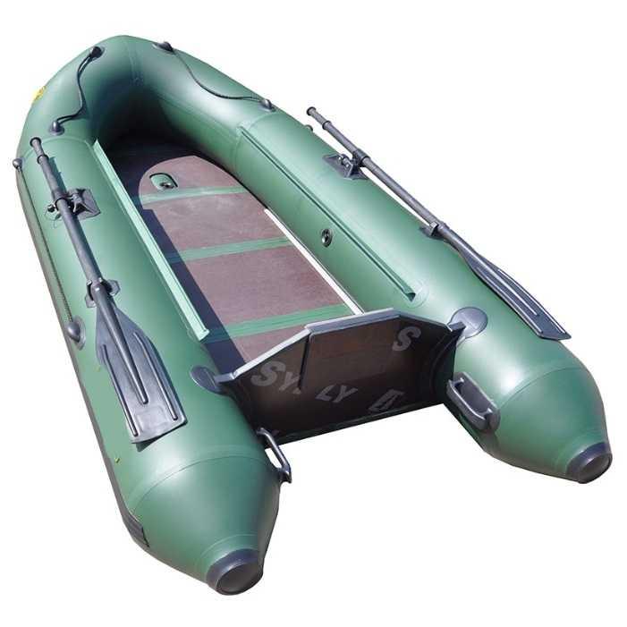 Лодка ПВХ 2х-м.,280х135, г/п 300кг, баллон 390мм, до 6 л.с., б/пола  Звезда 280