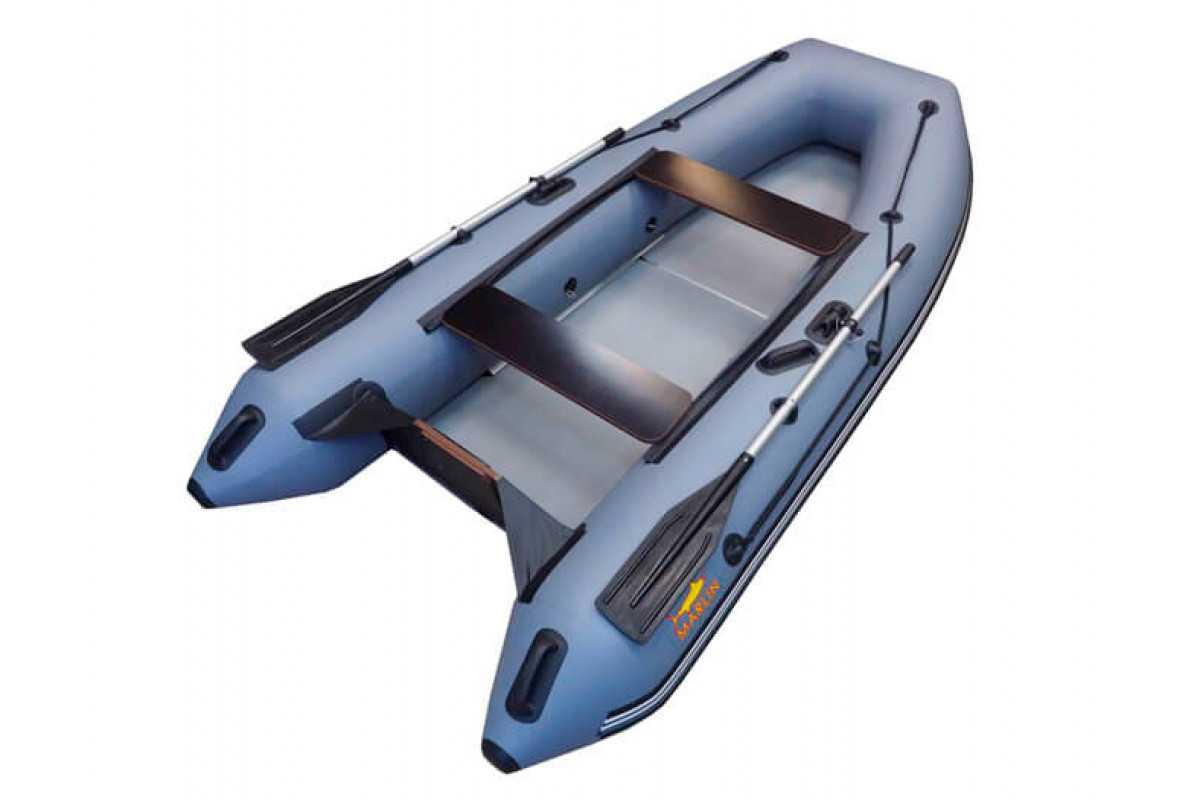 Лодка ПВХ 3х м., 320х140, г/п 420кг, баллон. 420мм, до 10л.с., тв.пол Megalodka ML-320K