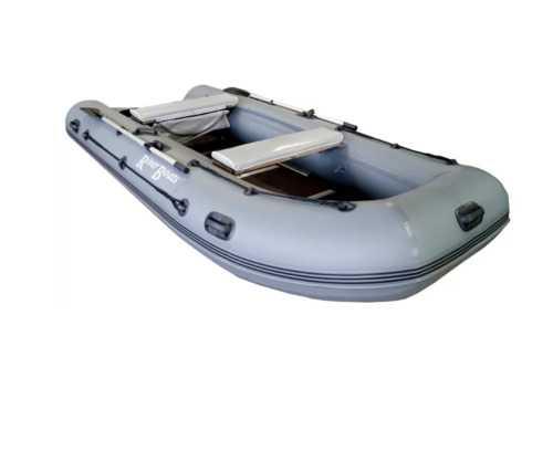 Лодка ПВХ 5ти м., 370х167, г/п 550кг, баллон 460мм, до 18л.с., тв.пол RiverBoats RB 370