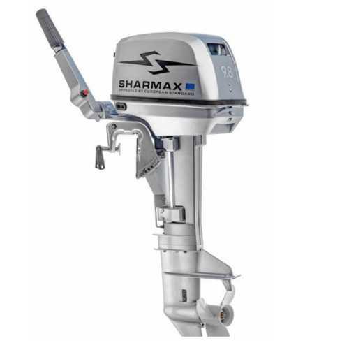 Мотор лод. 9.8 л.с., 2-хткт., 2020г SHARMAX SM9.8HS