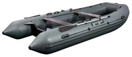 Лодка ПВХ 9х м., 490х214, г/п1650кг, баллон 580мм, до 50л.с, пол, RB490(Киль)