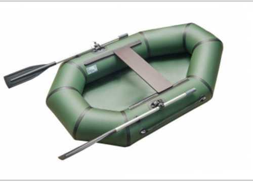 Лодка ПВХ 1х м., 200х125, г/п 180кг, баллон 320мм, БЕЗ ТРАНЦА  б/пола  зелен Roger Classic SL2000