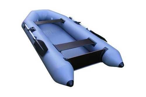 Лодка ПВХ 2х м., 280х1254, г/п220кг, баллон 3200мм, до 5л.с, б/пол, Шторм280