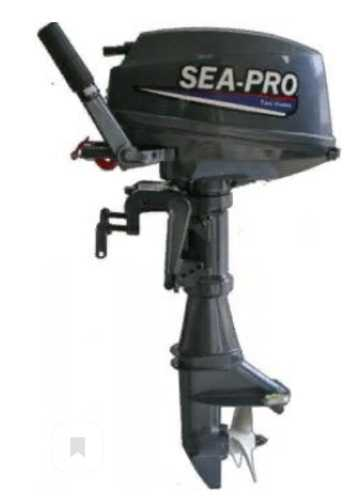 Мотор лод. 9.8 л.с., 2-хткт.,  2020г SEA-PRO T9.8 S