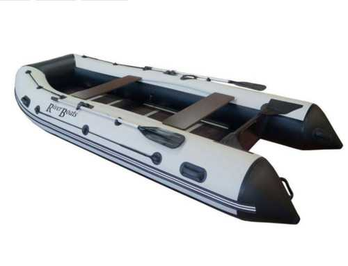Лодка ПВХ 7х м., 410х196, г/п 1100кг, баллон 530мм, до 30л.с., тв.пол, тент колеса RB410киль