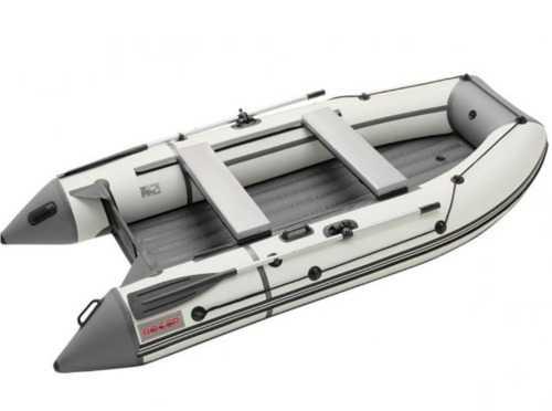 Лодка ПВХ 3х-м,310х156, г/п400кг, баллон 430мм, до9,8л.с,малокилевая НДНД Rog Zefir 3100LT